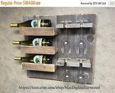 RUSTIC WINE RACK, Wall Wine Rack, Wine Rack Ideas, Wood Wine Rack, Wine Rack Wall Mounted, Unique Wine Rack, Rustic Home Decor