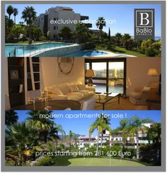 Modern apartments for sale   Marbella Area