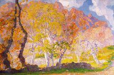 forma es vacío, vacío es forma: Hermenegild Anglada i Camarasa - pintura