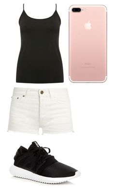 """""""summer"""" by jmkz72302 ❤ liked on Polyvore featuring M&Co, Yves Saint Laurent and adidas"""