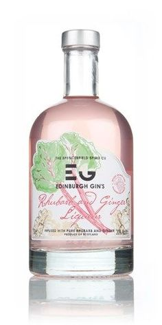 Edinburgh Gin's Rhubarb Liqueur - delicate pink colour looks so tasty! #ScotFood #Gin food photography, food styling