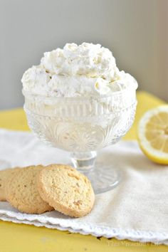This lemon ginger cookie salad is perfect for a picnic or summer get together. It is easy to make and a real crowd pleasing sweet treat appetizer. | gluten free appetizers | gluten free recipes | gluten free sweets | gluten free dessert recipes | homemade gluten free recipes | how to make a cookie salad || This Vivacious Life