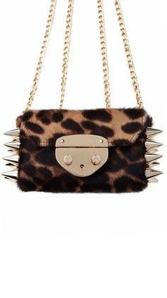 Giulietta Bag - Leopard Ponyhair