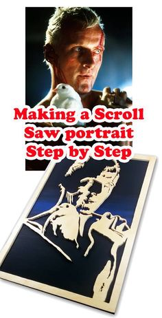 How to make a Scroll Saw Portrait - Step by Step