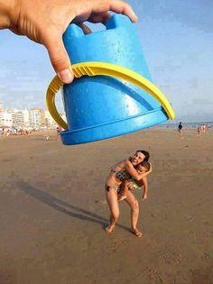 Divertidas ideas para tomarnos fotos en la playa y alberca :