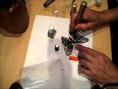 Decoración de una bandeja de cristal | Decoupage | Manualidades - YouTube