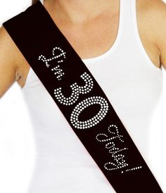 Items similar to 50 & Fabulous Hot Pink Foil and Rhinestone Black Banner - Birthday Party Decorations, Birthday Gift Ideas, Birthday Bash on Etsy 21st Birthday Sash, Birthday Gifts For Her, Birthday Bash, Girl Birthday, Birthday Parties, 50th Party, Birthday Drinks, Gatsby Party, Disco Party