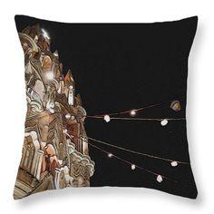 La Parroquia de San Miguel Archange Throw Pillow by Cathy Anderson