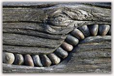 ein Ausschnitt von einer künstlerischen Arbeit auf der Seebrücke Zingst auf der Halbinsel Darß....