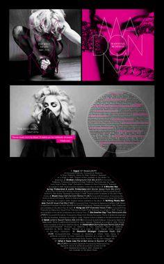 Madonna Remixed CD artwork.