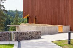 Finnish architecture - Finnish nature center Haltia by Mika Huisman, via Behance