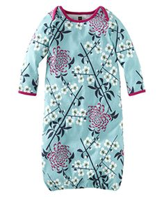 Loving this Blue Branch & Blossom Gown - Infant on #zulily! #zulilyfinds