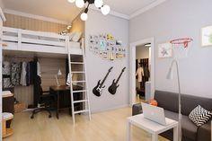 гостиная из проекта, реализованного Викторией Бондарчук