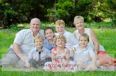 A photo with the grand-kids - Honey Bee Photography