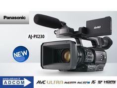 New Panasonic AJ-PX230 . Panasonic introduce la nuova economica videocamera palmare AJ-PX230PJ AVC ULTRA garantendo la qualità, il controllo delle immagini e gran parte delle funzionalità del suo predecessore il popolare AJ-PX270. Info: https://www.adcom.it/news.php?lang=it&idliv1=5&idn=242