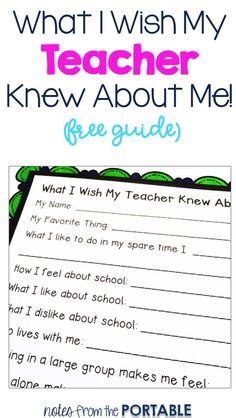 Love this way to get to know students. It's perfect for back to school, getting new students, and revamping classroom management. classroom management 6 Classroom Management Tips for an Amazing School Year! Get To Know You Activities, Back To School Activities, Back To School Ideas For Teachers, Back To School Teacher, Classroom Ideas For Teachers, Back To School Tips, Classroom Icebreakers, First Day Of School Activities, Classroom Freebies