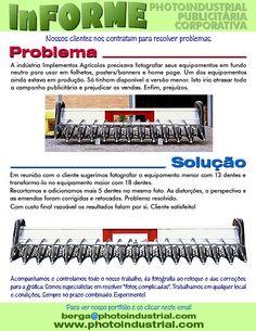 Nossos clientes nos contratam para resolver problemas. #foto_industrial
