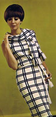 60's Dress and Matching Scarf Retro Mode, Mode Vintage, Vintage Vogue, Vintage Woman, Vintage Style, Sixties Fashion, Retro Fashion, Vintage Fashion, Womens Fashion