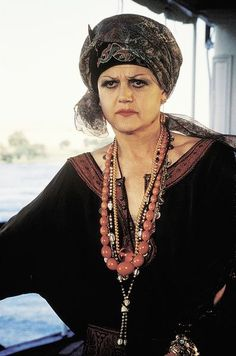 """Angela Lansbury as Salome Otterbourne in 1978's """"Death on the Nile""""."""