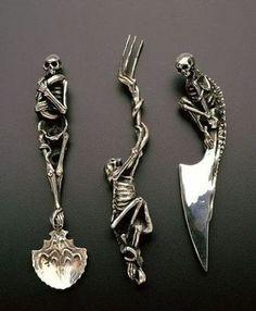 Skeleton Utnesils