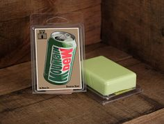 MOUNTAIN DEW scented Soap  Geeky Gifts and by InAnotherCastleDecor, $6.00
