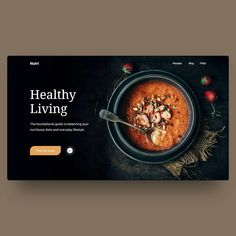 Rice Nutrition Facts - - Nutrition Activities For Kids Cooking - Holistic Nutrition Natural Treatments Food Web Design, Menu Design, Banner Design, Ux Design, Graphic Design, Website Design Layout, Website Design Inspiration, Layout Design, Nutrition Club