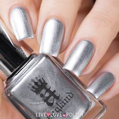 Swatch of A-England Excalibur Renaissance Nail Polish (The Mythicals Collection)