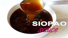 As promised here's the recipe for Siopao Sauce. It's a very easy recipe that can be prepare in a couple of minutes. It's super delicious and sweet. Filipino Dishes, Filipino Desserts, Filipino Recipes, Filipino Food, Hawaiian Recipes, Pinoy Food, Japanese Recipes, Asian Desserts, Asian Recipes