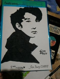 First #jinyoung  Hope you like this art!!😄😊😊😊