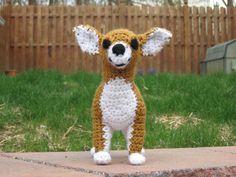 Chihuahua PDF Crochet Pattern Digital by ScareCrowOriginals