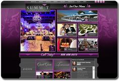 Our ability to design websites that reflect the client's business is what shines through in most of our projects. One example of this is the website we created for Summit Events. It features an elegant purple design, vertical slider images and a rich food menu section. Join Vidushi as we showcase our best work at the 2013 E Conference at Paris.