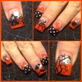 Halloween and polka dots