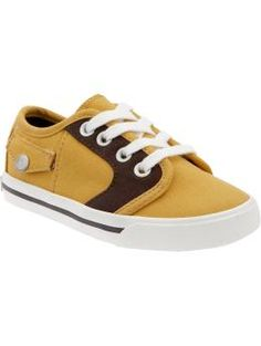 Canvas Faux-Pocket Sneakers $17