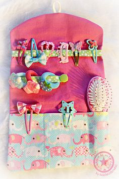 Good Hair Day Bag ITH 7x11 Machine Embroidery by DerStickbaer
