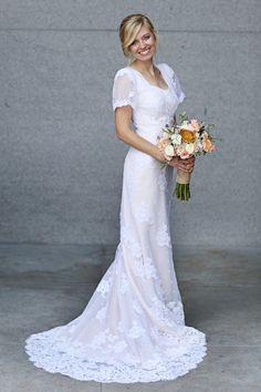 Rachael custom gown