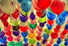 Balloons make me smile!
