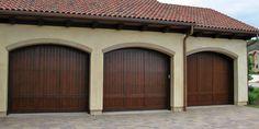Wooden Garage doors (exterior of course) Carriage Style Garage Doors, Wooden Garage Doors, Garage Door Installation, Outdoor Ideas, Outdoor Decor, Beach Bodies, Outside Living, San Jose, Chess