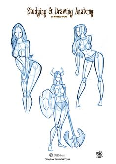 Studing anatomical of Pin Ups by celaoxxx on DeviantArt