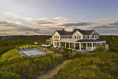 Nantucket Builder Josh Brown has been building the finest Nantucket homes since 1999 and is committed to high quality construction and attention to detail. Dream Home Design, House Design, Josh Brown, Nantucket Home, Landscape Design, New Homes, Construction, Mansions, House Styles
