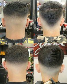 Fresh and clean work! Mens Haircuts Short Hair, Haircuts For Balding Men, Boys Long Hairstyles, Hairstyles Haircuts, Barber Haircuts, Very Short Hair Men, Short Hair Cuts, Short Hair Styles, Gents Hair Style