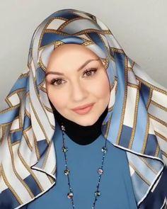 Eşarp bağlama videosu. #instagram#salbaglama#hijapstyle#instagood#instalike Video:@sehri__istanbul Turban Hijab, Hijab Prom Dress, Prom Dresses, New Hijab Style, Hijab Style Tutorial, Mode Hijab, Hijab Chic, Scarf Styles, Hijab Fashion