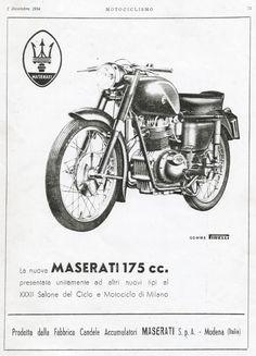 Archivio Storico | Moto d'epoca Maserati original
