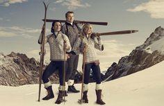 ÅRETS VM-GENSER: Marit Bjørgen, Petter Northug og Therese Johaug fronter årets VM-genser fra Dale of  Norway. FOTO: Frederick Kihle Dale