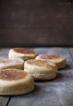 Why spend money on store bought english muffins that are full of preservatives when it's so easy and inexpensive to make them at home?