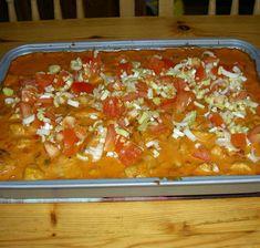 Kycklinggratäng 20 Min, Chutney, Lasagna, Macaroni And Cheese, Chili, Ethnic Recipes, Food, Ramadan, Mac And Cheese
