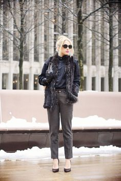 @roressclothes closet ideas #women fashion outfit #clothing style apparel Stylish Outfit for Winter