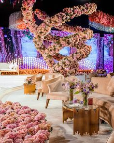 "LEBANESE WEDDINGS on Instagram: ""Late night inspiration all the way from Doha, Qatar 💕 Don't you just want to be surrounded with massive floral tornadoes 🥰 !?…"" Wedding Decorations, Table Decorations, Wedding Ideas, Lebanese Wedding, Luxury Wedding Venues, Indoor Wedding, All The Way, 15 Dresses, Classic Style"