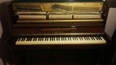 Our old&special piano