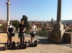 Mit dem Segway durch #Rom.