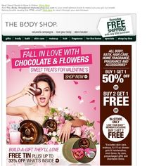 Body Shop - New! Sweet Deals In-Store & Online